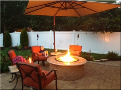 These Outdoor Propane Fire Table / Fire Pit Pictures Come To Us From Doug  Robertson. We Helped Doug Build His Dream Fire Table All Through Emails And  Phone ...