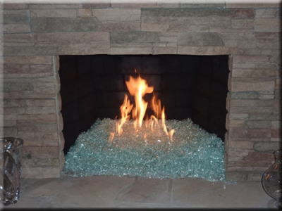 Fireplaces With Glass Rocks Fireplace Glass Fireplaces Fire Glass Fire Pit Glass Fireplace