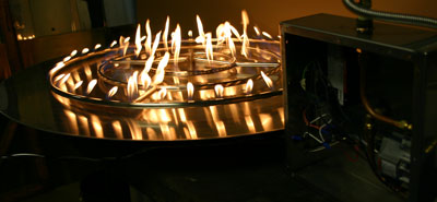 Fire Pit Glass On Fire Fireplace Glass Fireglass Glass