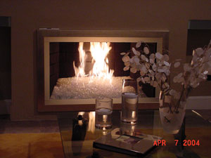 FireGlass Patent Fireplace Glass Fire Place Glass Fire Pit Gas Firepla