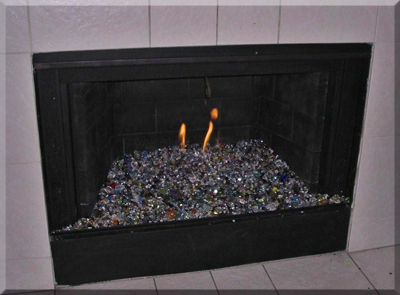 Fireplace Glass, Fireplaces, fire glass, fire pit glass. Fireplace ...