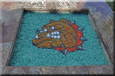 BullDog 2. The glass that is used in the fire pit; - Fire Pit Filler. Crushed Lava Rock For Fire Glass Fire Pits Or